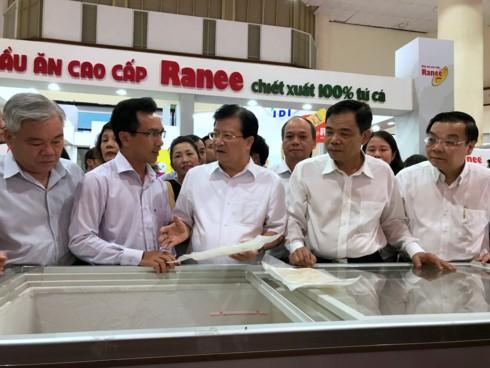 鼓励越南水产企业开发国内市场 - ảnh 1