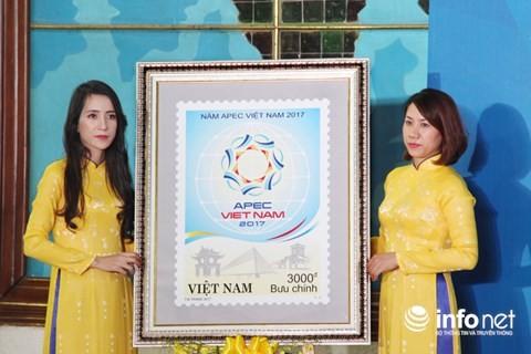 """越南特别发行""""迎接2017年越南APEC会议""""纪念邮票 - ảnh 1"""