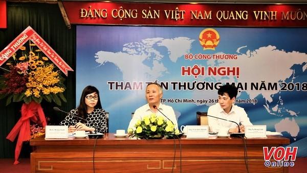 2018年越南南部各省市与商务参赞会议在胡志明市举行 - ảnh 1