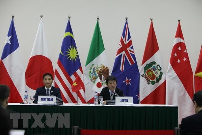 越南工贸部部长陈俊英会见日本、智利和墨西哥代表 - ảnh 1