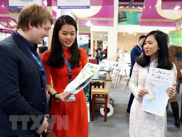 越南地图展在柏林国际旅游展上举行 - ảnh 1