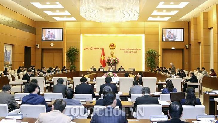 越南国会常务委员会第22次会议闭幕 - ảnh 1