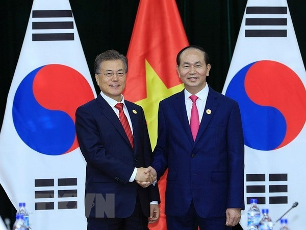 """韩国媒体:越南是韩国总统文在寅的""""新南方政策""""中的主要国家之一 - ảnh 1"""