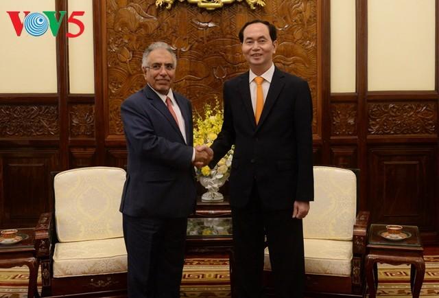 越南国家主席陈大光会见沙特阿拉伯驻越大使约哈尼 - ảnh 1