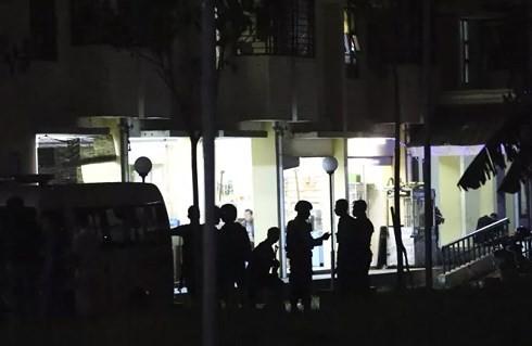 越南强烈谴责在印尼泗水发生的恐怖袭击事件 - ảnh 1