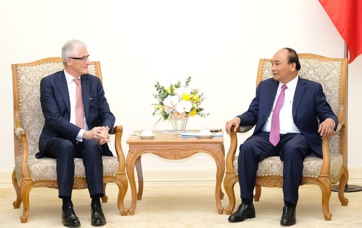 越南一向为推动与比利时的贸易投资合作创造条件 - ảnh 1