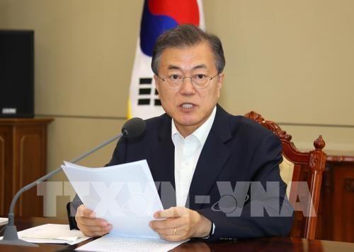 韩国寻找措施缩小美朝分歧 - ảnh 1