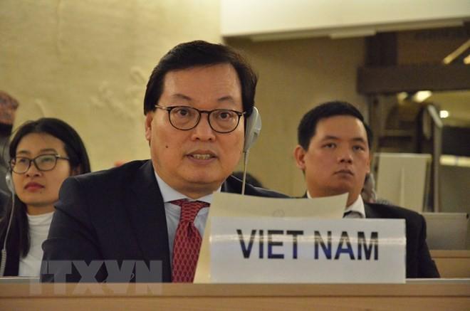 越南强调通过和平方式解决加沙地带紧张 - ảnh 1