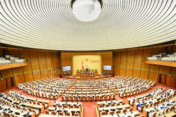 越南国会讨论《规划法(草案)》相关法律修订方案 - ảnh 1