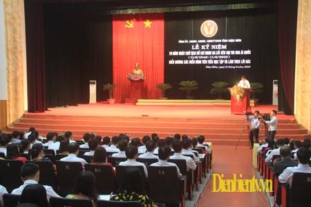 越南各地纪念胡志明主席发出爱国竞赛号召70周年 - ảnh 1