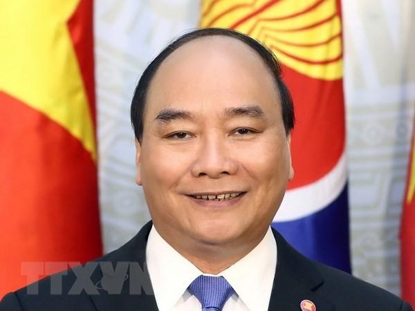 阮春福启程出席第8届伊洛瓦底江-湄南河-湄公河经济合作战略峰会和第9届柬老缅越合作峰会 - ảnh 1