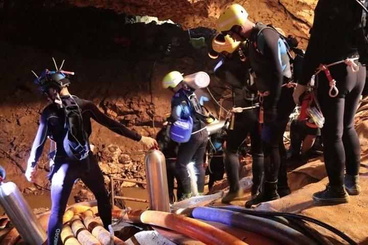 泰国第二轮洞穴救援行动结束 - ảnh 1