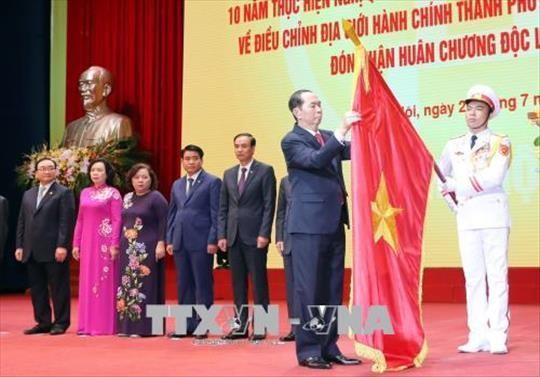 越南决心越过各种困难和挑战 推动升龙河内迈上新水平 - ảnh 1