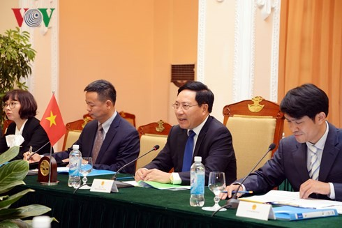 越南和阿根廷外长举行会谈 - ảnh 1