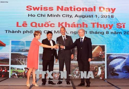 瑞士联邦国庆活动在胡志明市举行 - ảnh 1