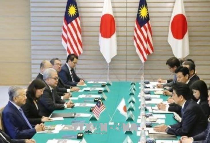 马来西亚总理对日本进行访问并促进双边关系 - ảnh 1