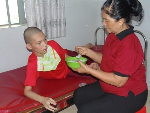 """""""携手减轻越南橙剂受害者的痛苦""""活动在河内举行 - ảnh 1"""