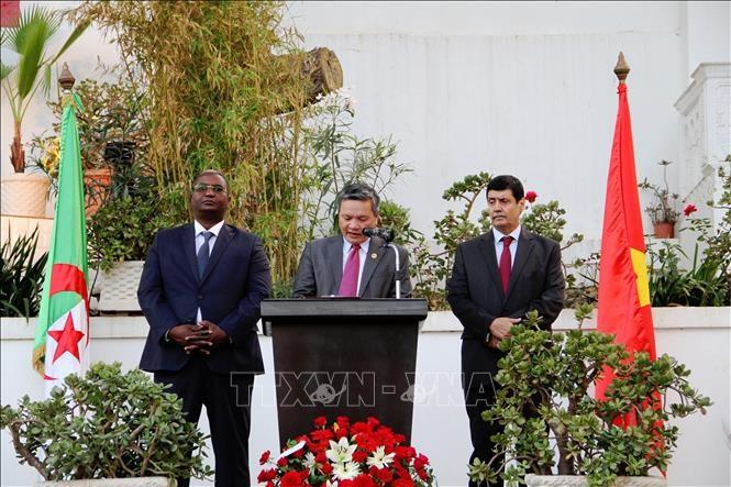 越南国庆73周年庆祝活动在瑞士、智利和阿尔及利亚举行 - ảnh 1