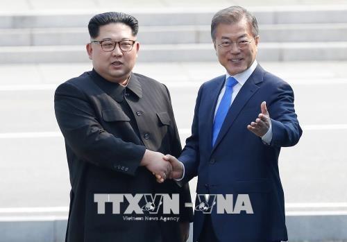 韩朝提请联合国将《板门店宣言》英译本作为正式文件散发 - ảnh 1