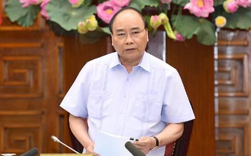 越南政府总理阮春福与谅山省领导人座谈 - ảnh 1