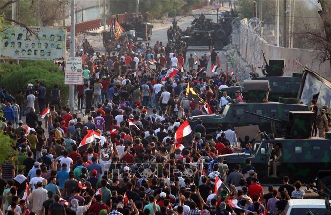 美国宣布将对针对美国驻伊拉克外交设施的袭击作出回应 - ảnh 1