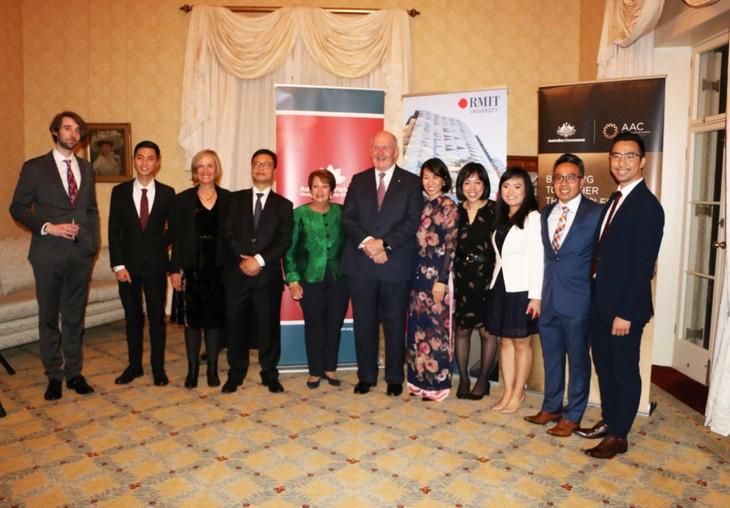 2019年越南-澳大利亚青年领导人对话会启动仪式 - ảnh 1