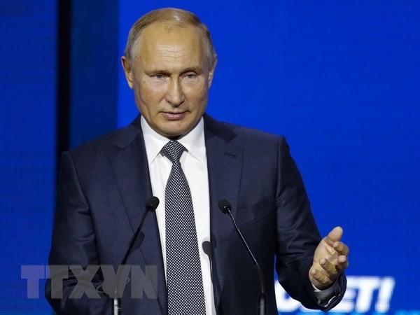 俄罗斯谴责对俄制裁和贸易保护主义 - ảnh 1