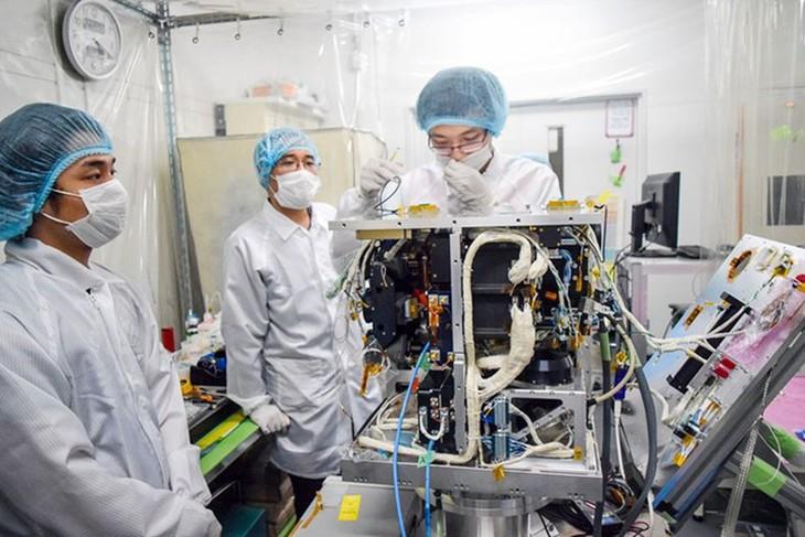 """越南研制的 """"微龙""""卫星将在日本发射 - ảnh 1"""