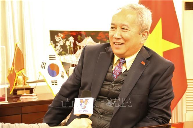 韩国和越南关系继续强劲发展 - ảnh 1