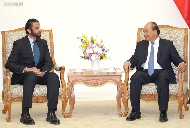 越南重视发展与UAE的各领域友好合作关系 - ảnh 1