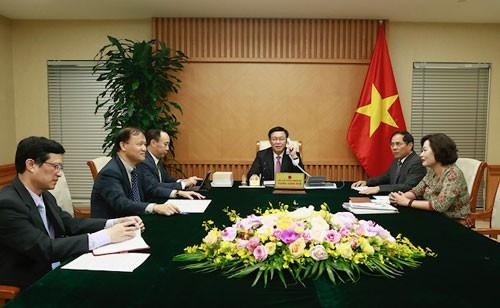 越南政府副总理王庭惠:越南一向重视与美国的全面伙伴关系 - ảnh 1