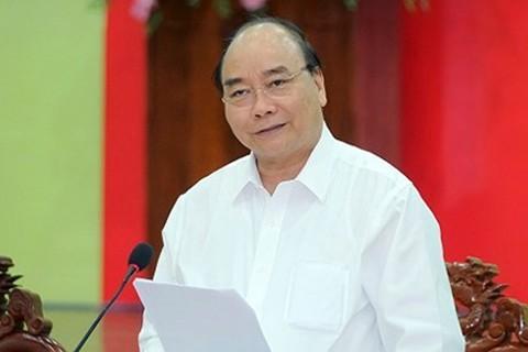 越南政府总理阮春福出席北部重点经济区发展会议 - ảnh 1