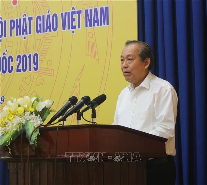 越南政府副总理张和平:越南一向尊重并为促进宗教信仰自由权创造条件 - ảnh 1
