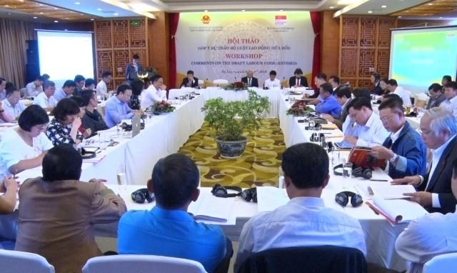 越南14届国会8次会议将审议通过《劳动法修正案(草案)》 - ảnh 1