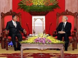 KPV-Generalsekretär empfängt myanmarischen Senatspräsident  - ảnh 1