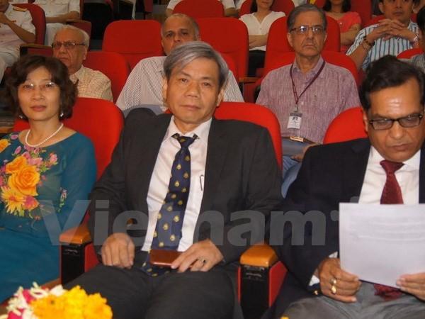 Feier zum 60. Jahrestag der Gründung der vietnamesischen Marine in Indien - ảnh 1