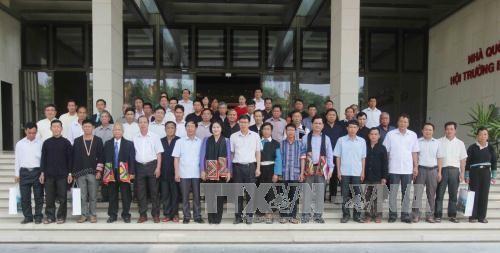 Vizeparlamentspräsidentin Nguyen Thi Kim Ngan empfängt Vertreter ethnischer Minderheiten aus Son La - ảnh 1