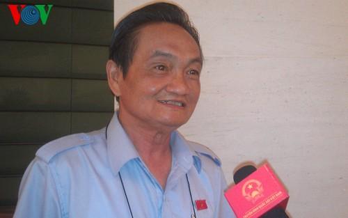 Wähler zeigen Zufriedenheit nach der Eröffnung der Parlamentssitzung - ảnh 1