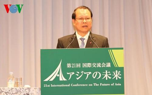 """Vizepremierminister Vu Van Ninh nimmt an Konferenz """"Zukunft Asiens"""" teil - ảnh 1"""