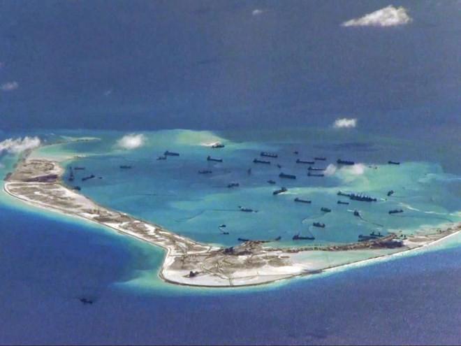 USA sind besorgt über Bau von Leuchttürmen im Ostmeer durch China - ảnh 1