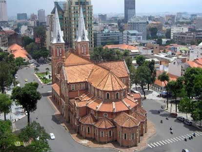 Notre-Dame-Kathedrale in Ho Chi Minh Stadt - ảnh 1