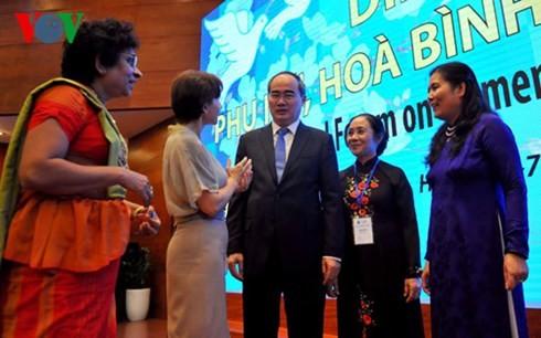Rolle der vietnamesischen Frau wird anerkannt und verbessert - ảnh 1