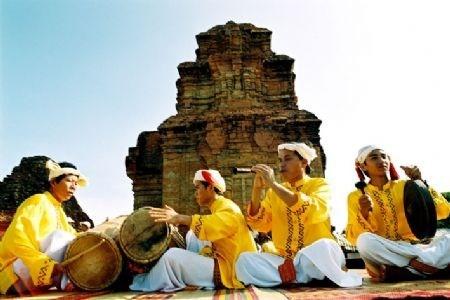 Lebhaftes Kate-Fest der Cham in Ninh Thuan - ảnh 1