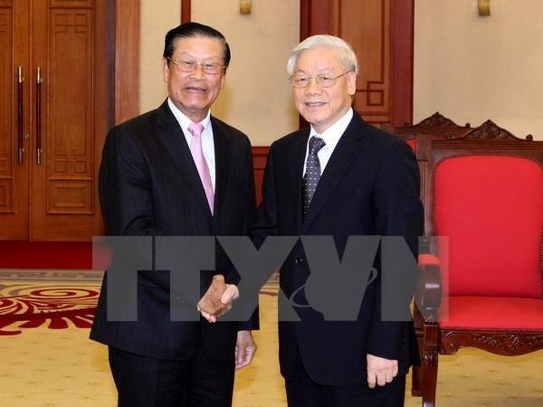 Vietnam will traditionell gute Freundschaft mit Laos pflegen - ảnh 1