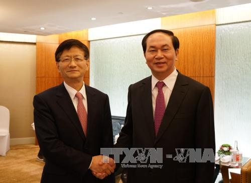 Vietnam und China wollen ihre umfassende Zusammenarbeit vertiefen - ảnh 1