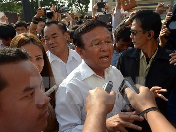 Tausende Kambodschaner fordern den Rücktritt von Kem Sokha - ảnh 1