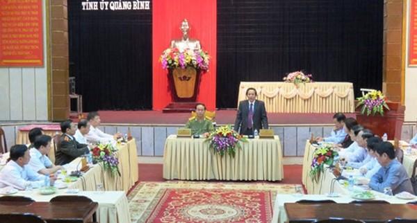 General Tran Dai Quang besucht Quang Binh - ảnh 1