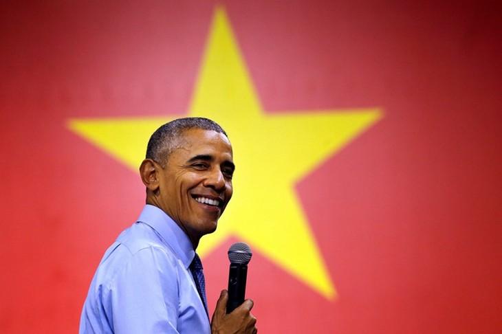 Weltmedien berichten positiv über den Vietnambesuch des US-Präsidenten - ảnh 1