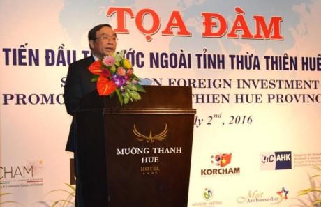 Forum über ausländische Investition in Thua Thien-Hue - ảnh 1