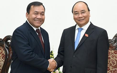 Kambodschanischer Botschafter beendet Dienst in Vietnam - ảnh 1